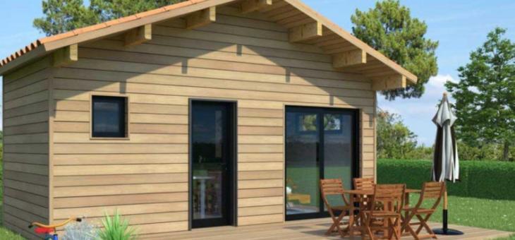 Chalet de jardin en bois : une annexe cosy