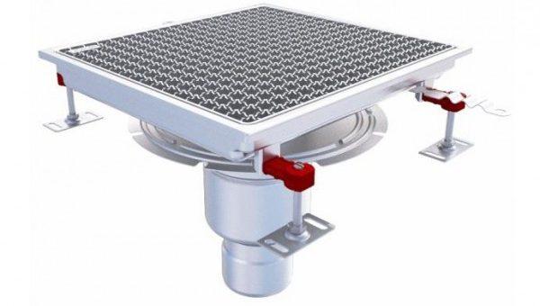 Faciliter l'évacuation des eaux usées à l'aide d'un caniveau de sol