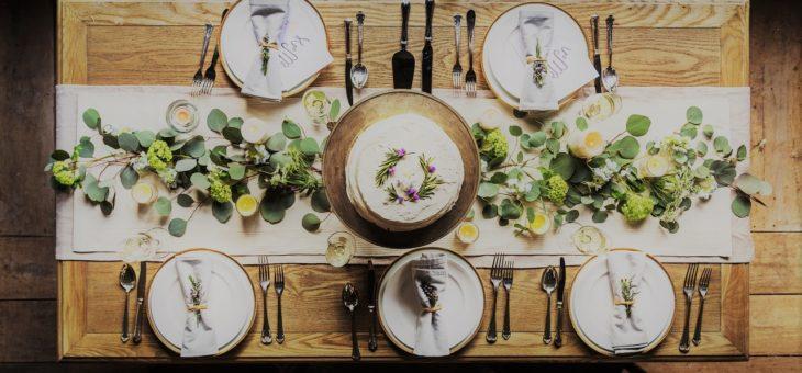 Faire une décoration de table originale avec Jean Francois Charpenet