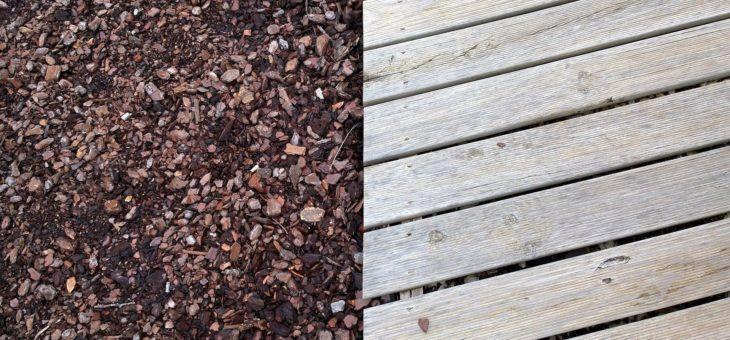 Construire sa terrasse en bois : combien de plots ?
