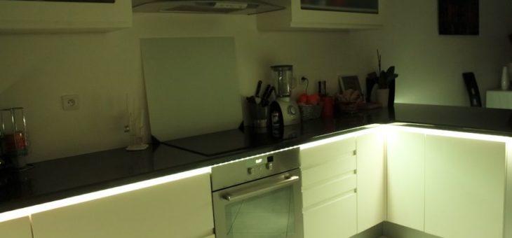 Eclairer autrement la cuisine avec le ruban led